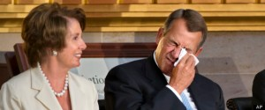 Arnold Palmer, Nancy Pelosi, John Boehner