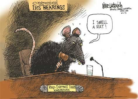 Congressional IRS hearing fail!