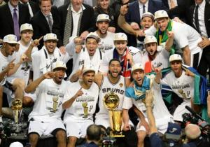 NBA champs Spurs
