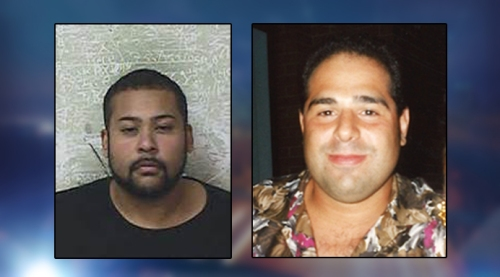 Alexis Sanchez (left, Dept. of Corrections) and his 42-year-old victim Stephen Mari (right, handout).