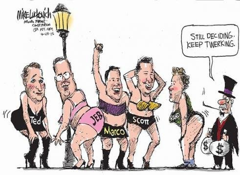 twerking presidential candidates